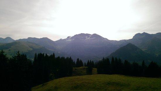 Lenk-Simmental, Suiza: Vue depuis Betelberg