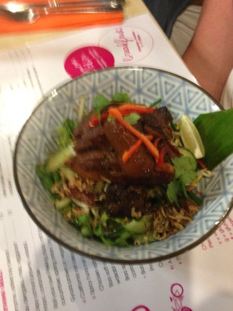 Balnarring, Australia: Caramelised sticky pork