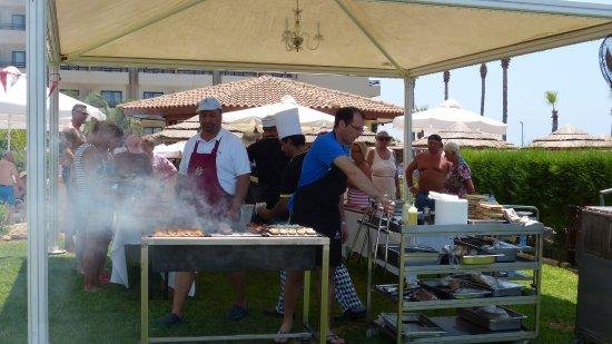 Atlantica Golden Beach Hotel: Friday BBQ