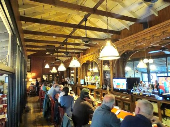 The Depot Grill 40 Foot Historic Bar
