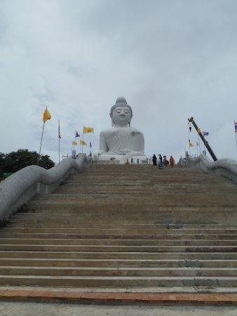Chalong, Tailandia: Bouddha blanc