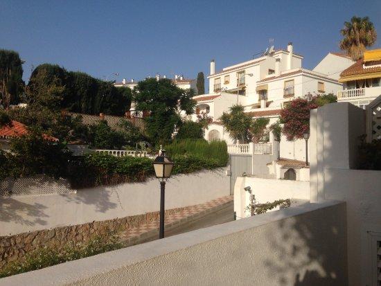 Hotel La Luna Blanca: view from the balcony