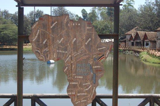 Nairobi Mamba Village: Map of Africa