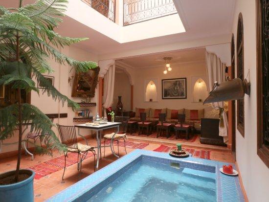 Riad de la semaine b b marrakech maroc voir les for Salon zen rabat tarifs