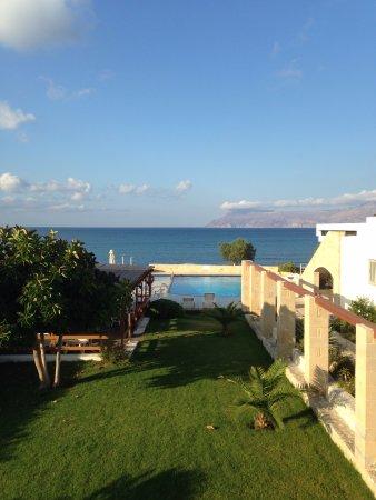 Gramvousa, Grecia: Al mattino, quando mi svegliavo..... mare, piscina, giardino curatissimo