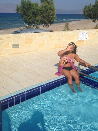 Gramvousa, Grecia: Finita la spiaggia, inizia la piscina !!