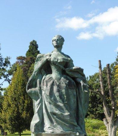 Godollo, Hungría: Estatua en los jardines
