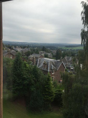 Knock Castle Hotel & Spa: View from lodge window