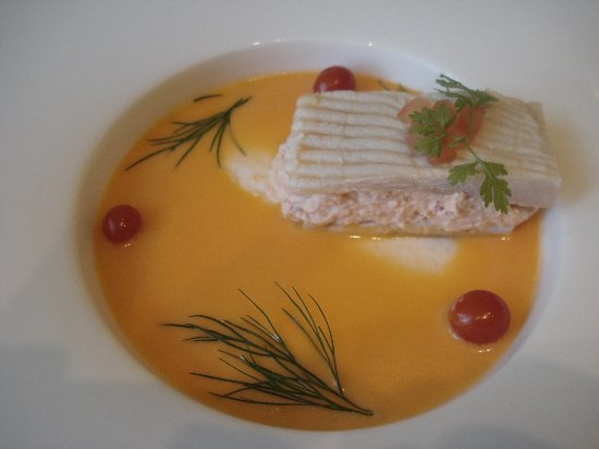 Bruneau Restaurant: Coussinet de raie au homard