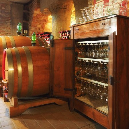 Wine tasting -- Cascina delle Rose makes fine quality wines and it's easy to arrange a tasting.