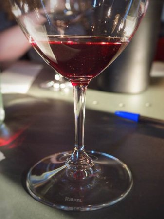 Cascina delle Rose : Glass of wine during the tasting