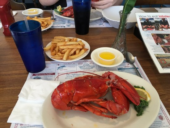 Rockport, ME: Very good lobster