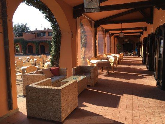 Montalto di Castro, Italien: Il patio
