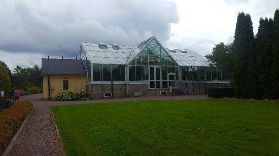 Uppsala, Sweden: Tropiska växthuset
