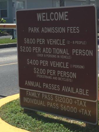 Honeymoon Island State Park: Admission