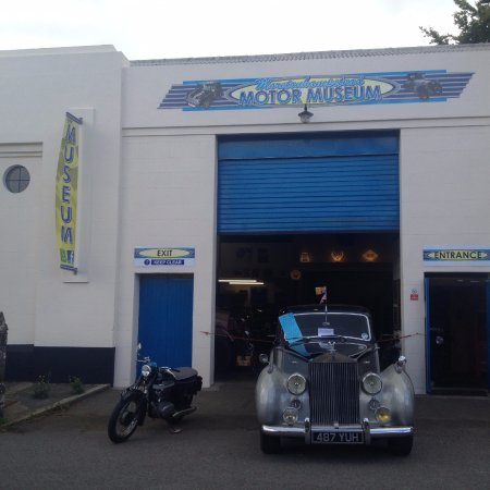 Moretonhampstead, UK: Norton and Rolls Royce
