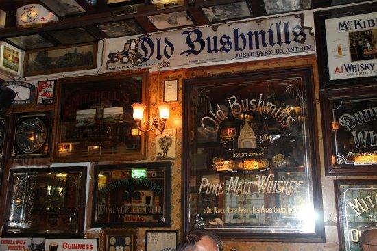 Inside decor of the Duke of York pub