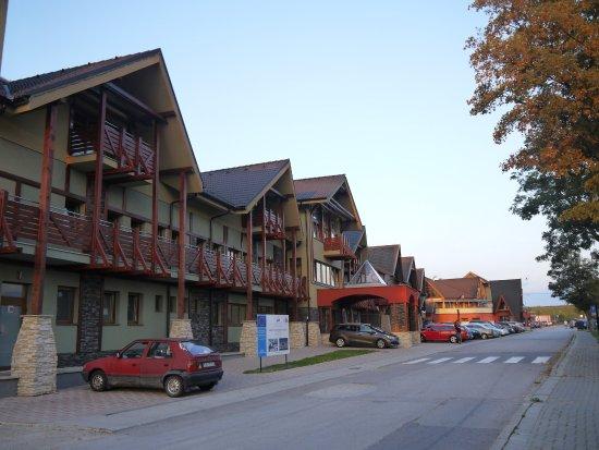 Bešeňová, Slowakije: view from the street