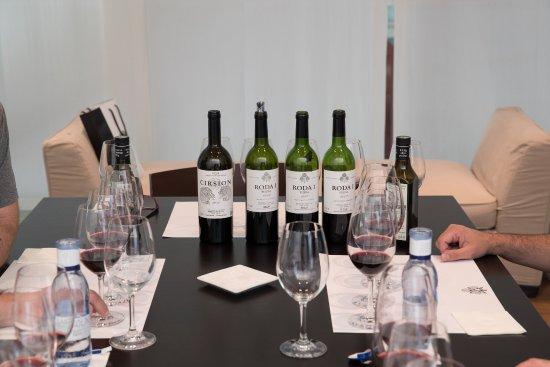 Haro, Spagna: wine tasting in private room