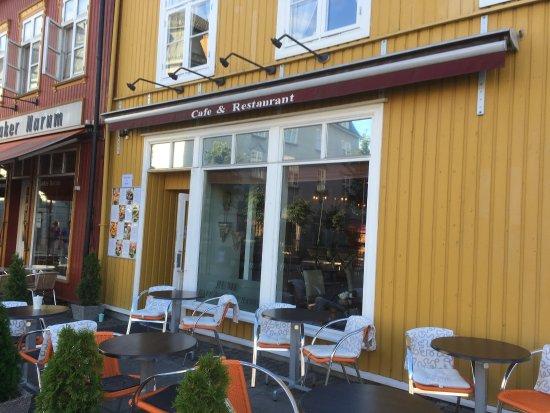 Honefoss, Noorwegen: Lovely restaurant