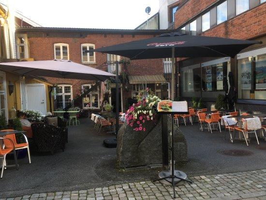 Honefoss, Norwegia: Lovely restaurant