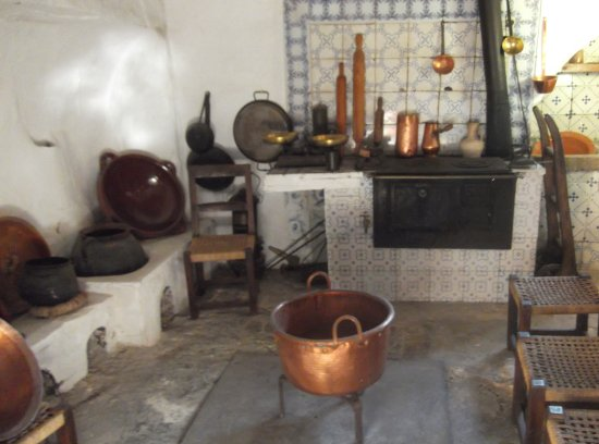 Consell, España: In the kitchen at the Bodega Ribas house