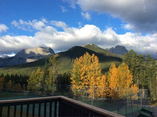 Dead Man's Flats, Canadá: View from the chalet