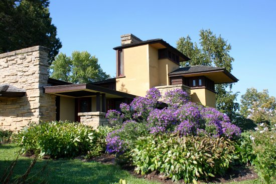 Spring Green, WI: Frank Lloyd Wrights home