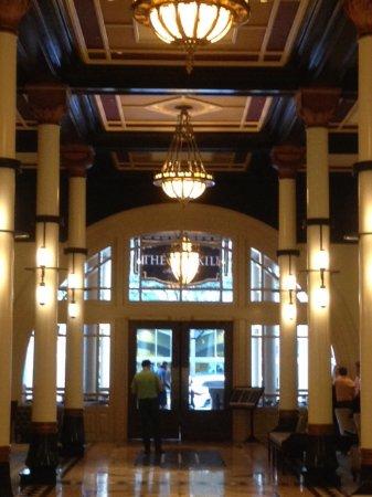 The Driskill: Beautiful lobby area