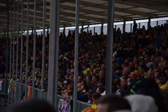 Silverstone, UK: The stand