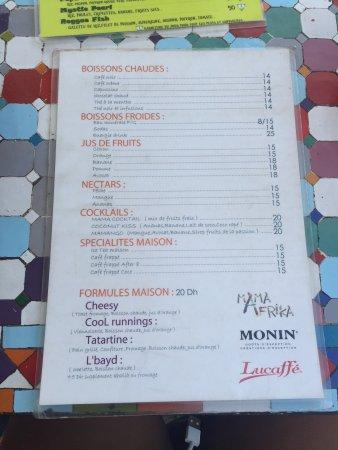 Cafe Mama Afrika: Super, à tester!!!