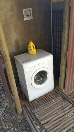 Louis Trichardt, Sudáfrica: Washing machine and soap provided