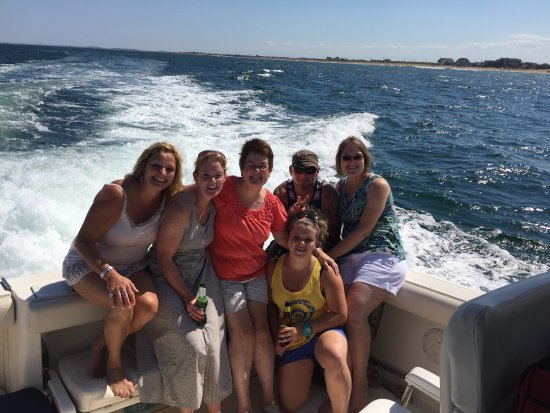 "Newburyport, MA: Corporate Group chartered the Yacht ""GIA"".   The group had a blast!!!"