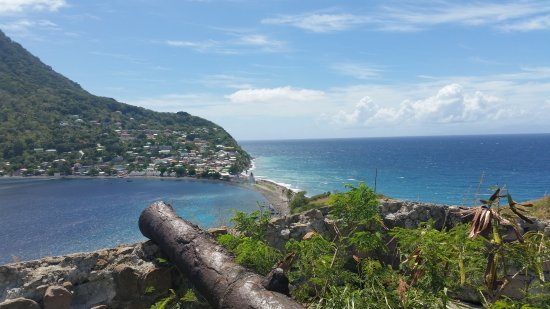 Scotts Head, Dominika: Du sommet de Scottshead