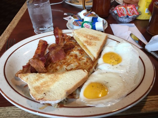 Golden Bear Motel & RV Park: petit dejeuner