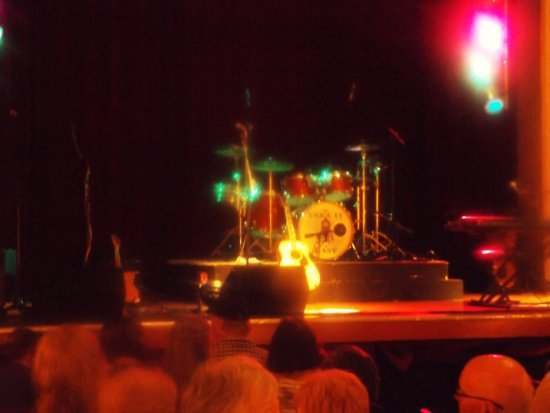 Aeolian Hall: Stage at the front