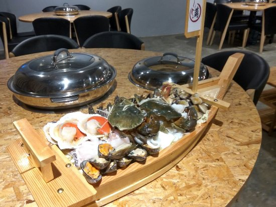 Petaling District, Malaysia: Moon Folk Sauna Steamboat