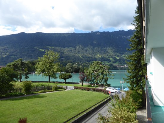 Boenigen, Suíça: view from the balcony