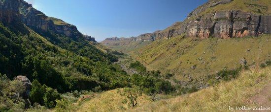 KwaZulu-Natal, Republika Południowej Afryki: Tugela River - Royal Natal NP