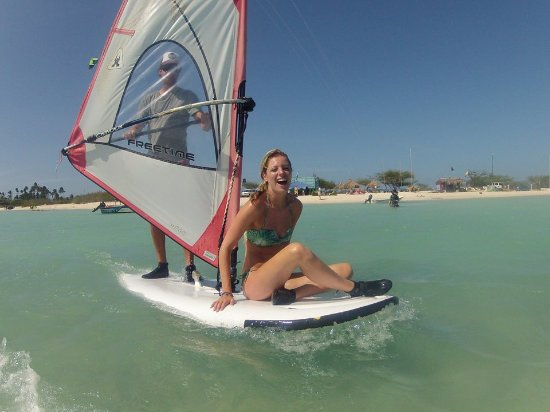 Malmok Beach, Aruba: Windsurfing Aruba