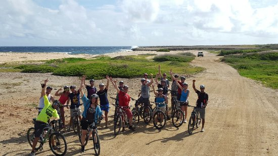 Malmok Beach, Aruba: Aruba mountainbike tour