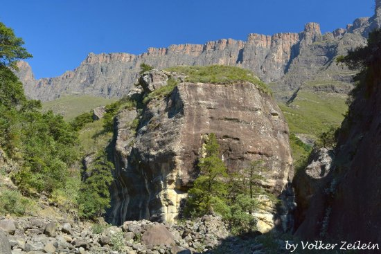 KwaZulu-Natal, Güney Afrika: Tugela Schlucht