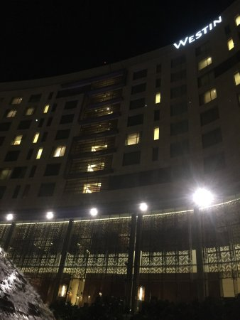 Nice change to Crowne Plaza, but a little louder