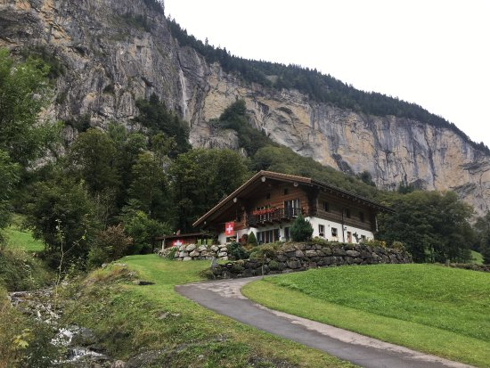 写真Lauterbrunnen Valley Waterfalls枚