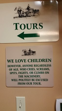 New Glarus, WI: Humorous Sign
