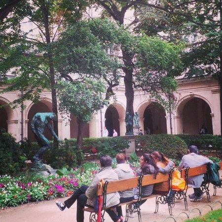 Jardin intérieur - Photo de Musée des Beaux-Arts de Lyon, Lyon ...
