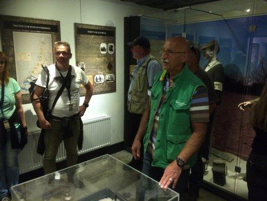 Hoek van Holland, Ολλανδία: In het museum.