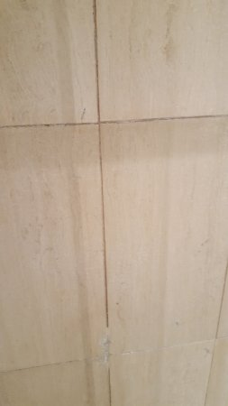 Mercure Thalassa Port Frejus : carrelage salle de bains chambre 115