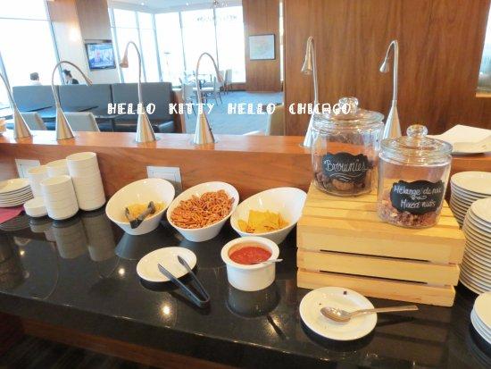 Hilton Quebec: Executive Lounge