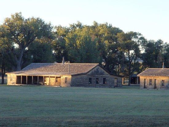 Fort Robinson State Park Historic Outbuildingsat Ft Crawford Ne